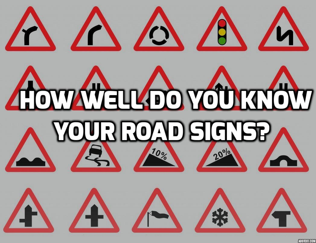 Road Signs Quiz: Test Your Knowledge Of Uk Road Signs - Free Printable Testing Signs
