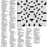 Roulette Crossword   Reds, Blacks, Evens Or Odds, In Roulette   Free La Times Crossword Printable