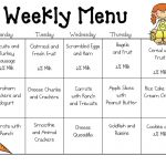 Sample Daycare Menu Templates | Preschool | Daycare Menu, Toddler   Free Printable Daycare Menus