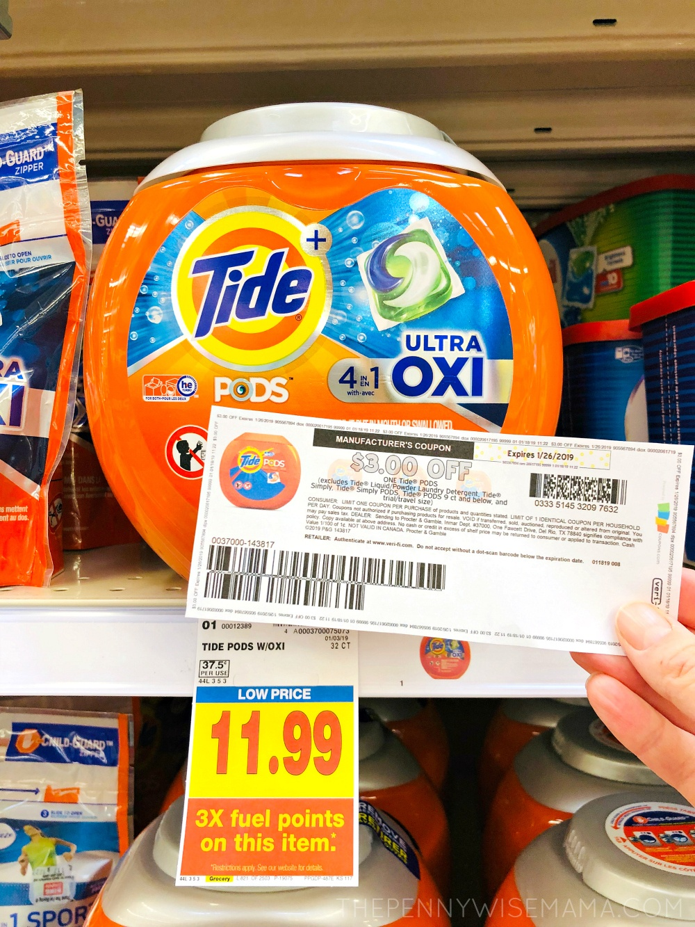 Save $3 On Tide Pods Laundry Detergent {Printable Coupon} - The - Free Printable Tide Simply Coupons