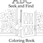Seek And Finds | Alphabet | Coloring Pages, Toddler Learning   Free Printable Seek And Find