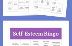 Self-Esteem Bingo | Group Ideas | Free Bingo Cards, Free Printable – Free Printable Self Esteem Bingo