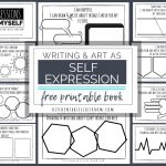 Self Expression Through Writing & Art  Free Self Esteem Worksheets   Free Printable Classroom Worksheets