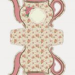 Shabby Chic Teapot Free Printable Boxes.   Oh My Fiesta! In English   Free Teapot Printable