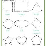 Shapes Worksheets For Preschool [Free Printables] – Mary Martha Mama   Free Printable Shapes