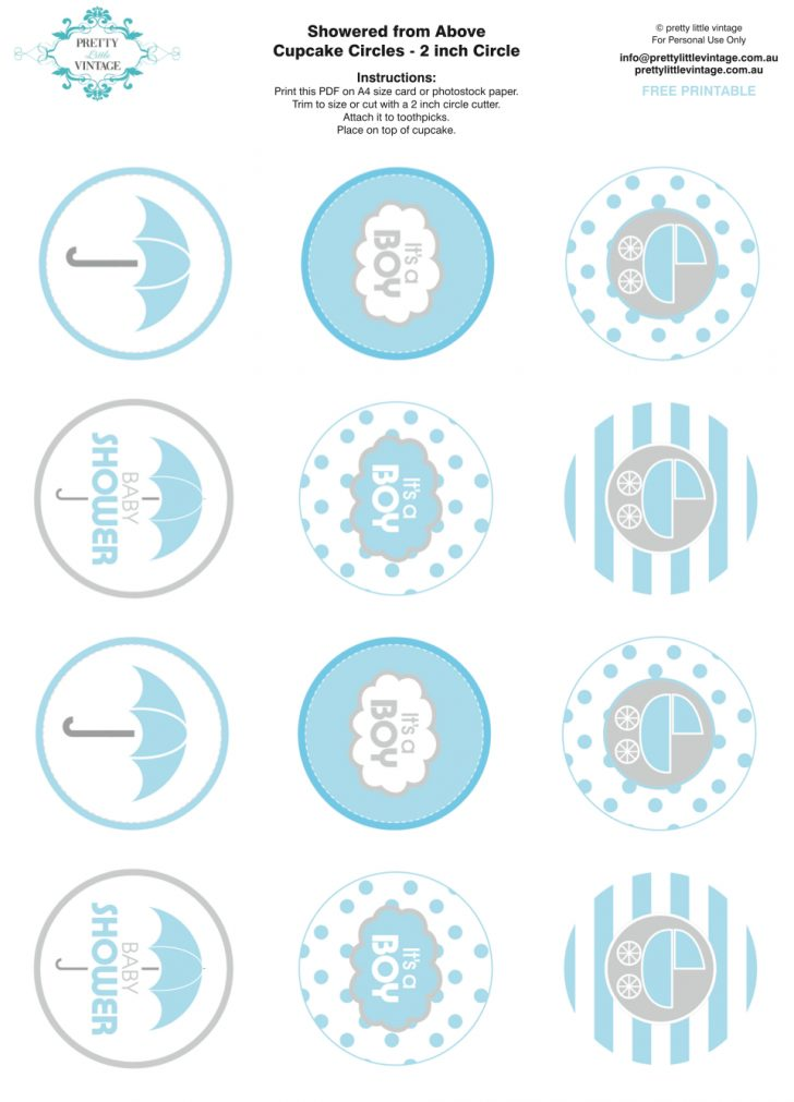 Free Printable Baby Shower Decorations For A Boy