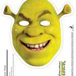 Shrek Photo Booth Props: Free Printable Shrek Mask | Sebastian's   Free Printable Shrek Birthday Invitations