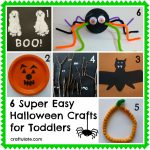 Simple Halloween Crafts For Kids   Free Printable Calendar, Blank   Halloween Crafts For Kids Free Printable