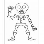 Skeleton Coloring Pages For Preschoolers | Kids Ideas | Halloween   Free Printable Skeleton Coloring Pages