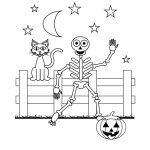 Skeleton Coloring Pages | Halloween | Halloween Coloring Pages   Free Printable Skeleton Coloring Pages