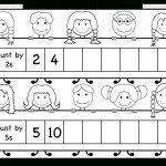 Skip Counting2 And 5 – Worksheet / Free Printable Worksheets   Free Printable Skip Counting Worksheets