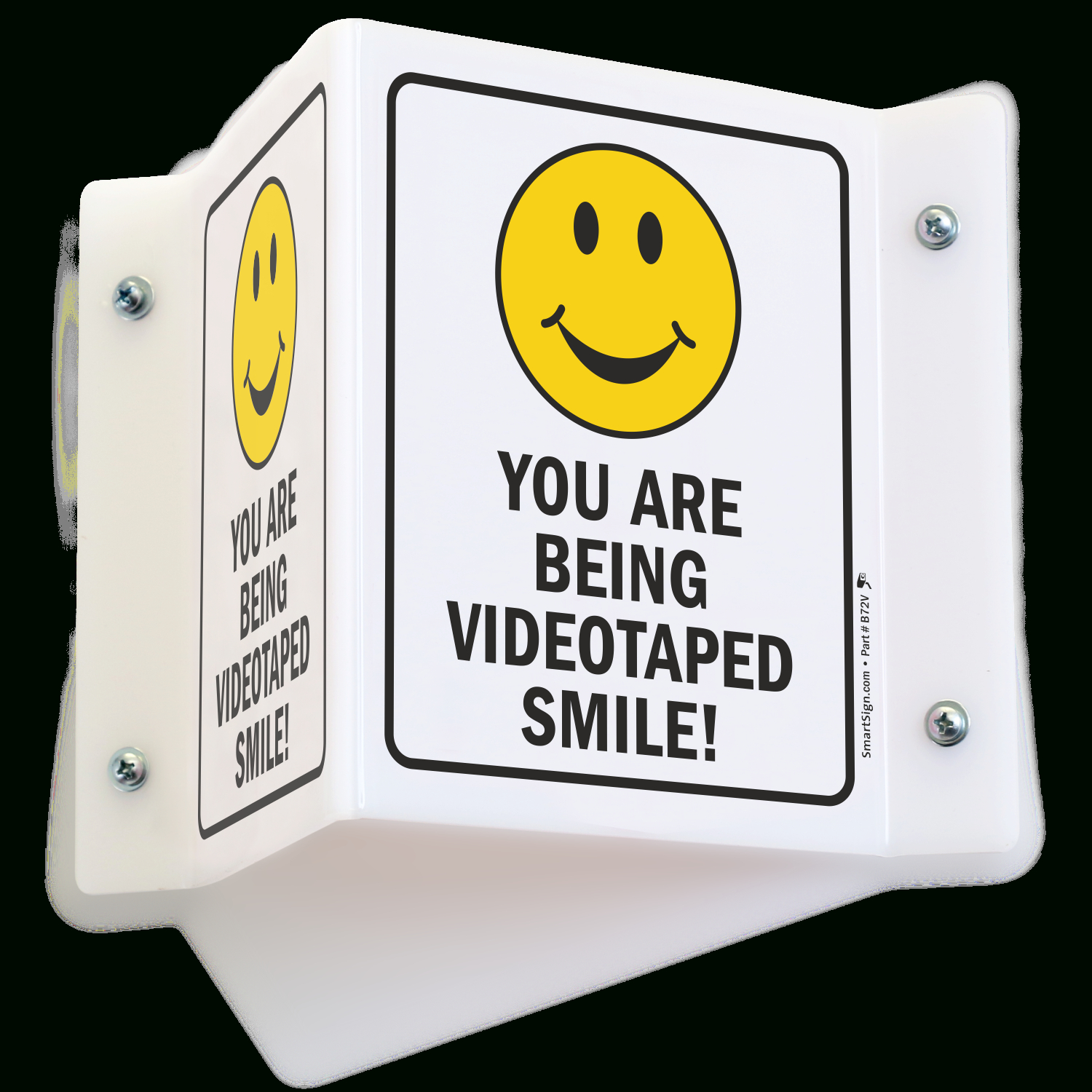 Smile You're On Camera Signs - You Are Being Video Taped - Free Printable Smile Your On Camera