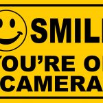 Smile You're On Camera Yellow Business Security Sign Cctv Video   Free Printable Smile Your On Camera