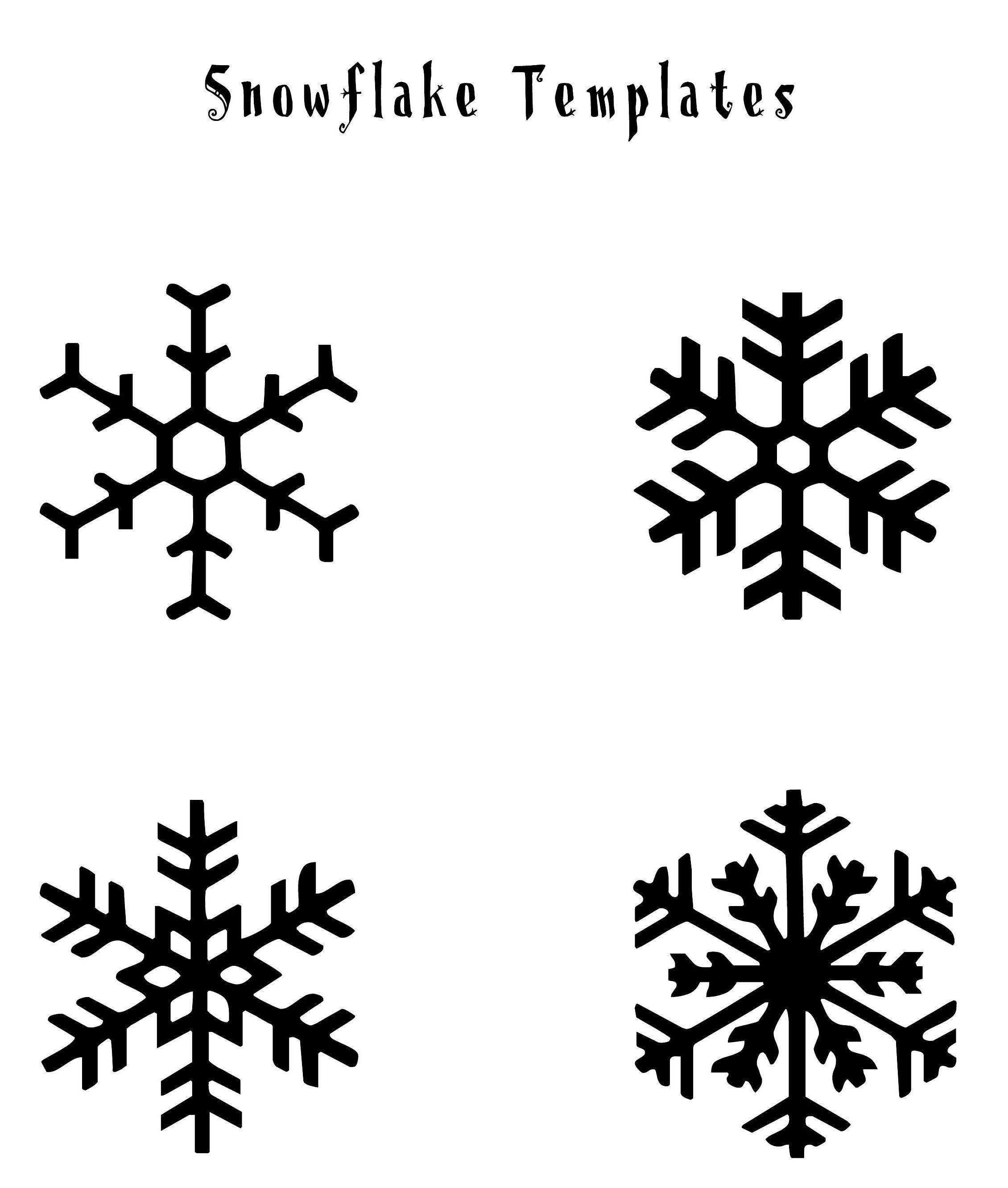 Snowflakes | Christmas | Snowflakes Diy Template, Snowflakes Art - Free Printable Snowflake Patterns