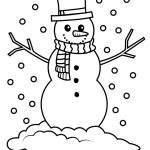 Snowman Pictures To Color | To Color They May Enjoy This Printable   Free Printable Snowman Patterns