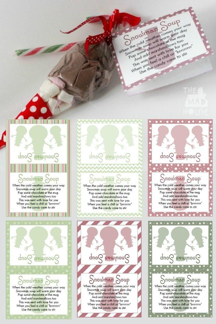 Snowman Soup And Free Printable Labels | Christmas | Snowman Soup - Snowman Soup Free Printable