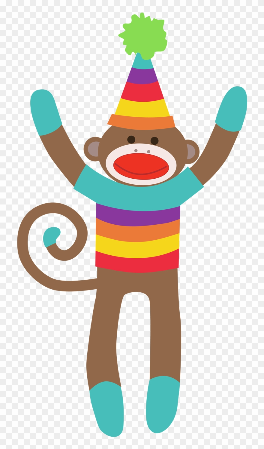 Sock Monkey Clipart Free Download Clip Art On - Colorful Sock Monkey - Free Printable Sock Monkey Clip Art