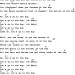 Song Lyrics With Guitar Chords For At The Hop | Music In 2019   Free Printable Song Lyrics With Guitar Chords