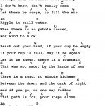 Song Lyrics With Guitar Chords For Ripple | Inspiration In 2019   Free Printable Song Lyrics With Guitar Chords