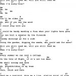 Song Lyrics With Guitar Chords For When I'm 64   The Beatles   Free Printable Song Lyrics With Guitar Chords