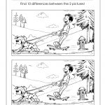 Spot The Difference Printable – Free Printable Spot The Difference For Kids