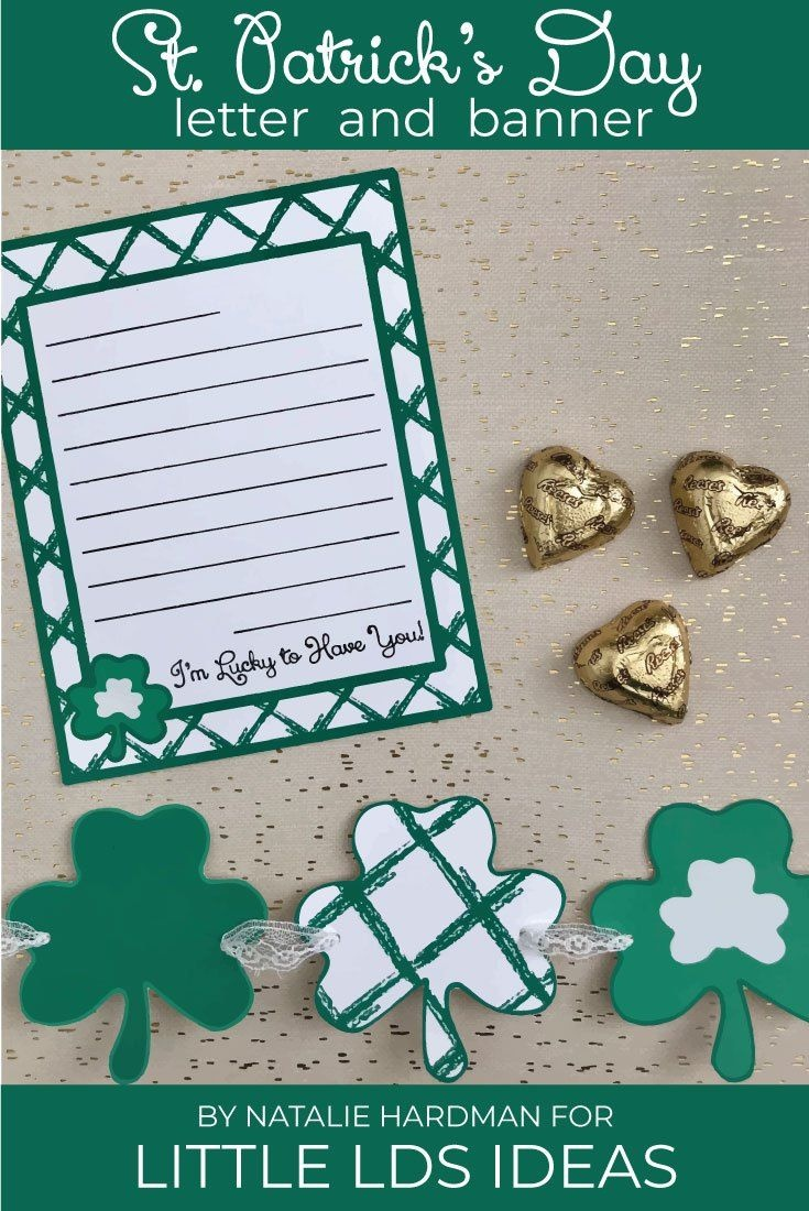 St. Patrick's Day Letter And Banner Printables | Lds Pins We Love - Free Printable St Patrick's Day Banner