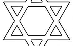 Star Of David Coloring Page – Print. Color. Fun! – Star Of David Template Free Printable