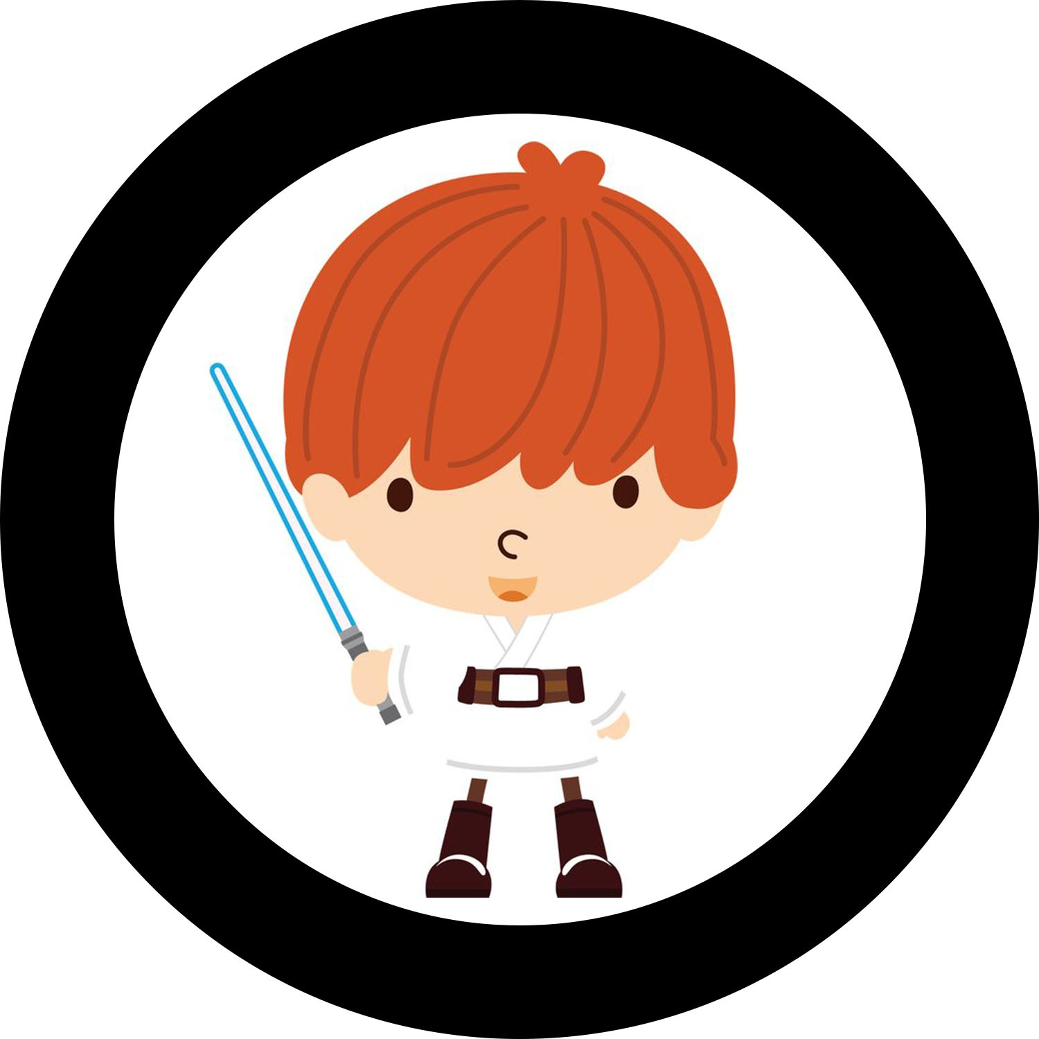 Star Wars Babies: Free Printable Toppers And Wrappers For Cupcakes - Free Printable Train Cupcake Toppers