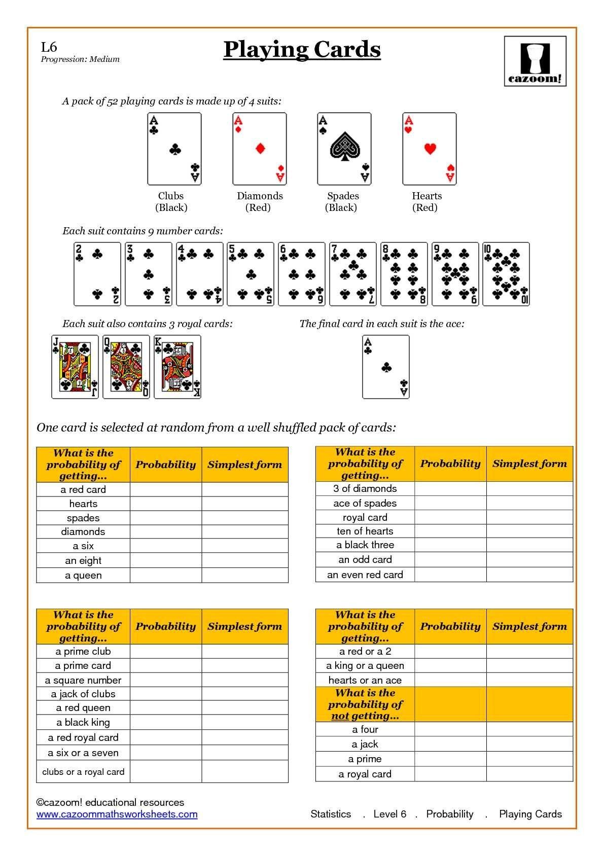 Statistic Maths Worksheets | Math | Probability Worksheets, Math - Free Printable Statistics Worksheets