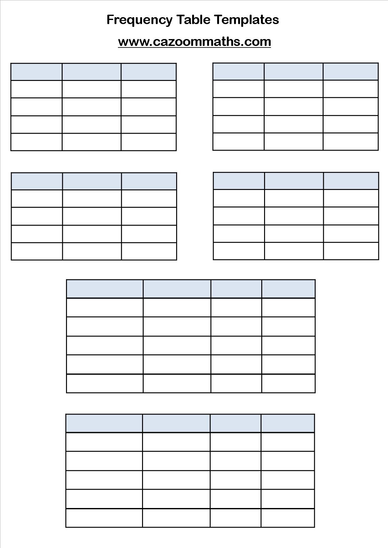 Statistics Teaching Resources | Ks3 And Ks4 Statistics Worksheets - Free Printable Statistics Worksheets