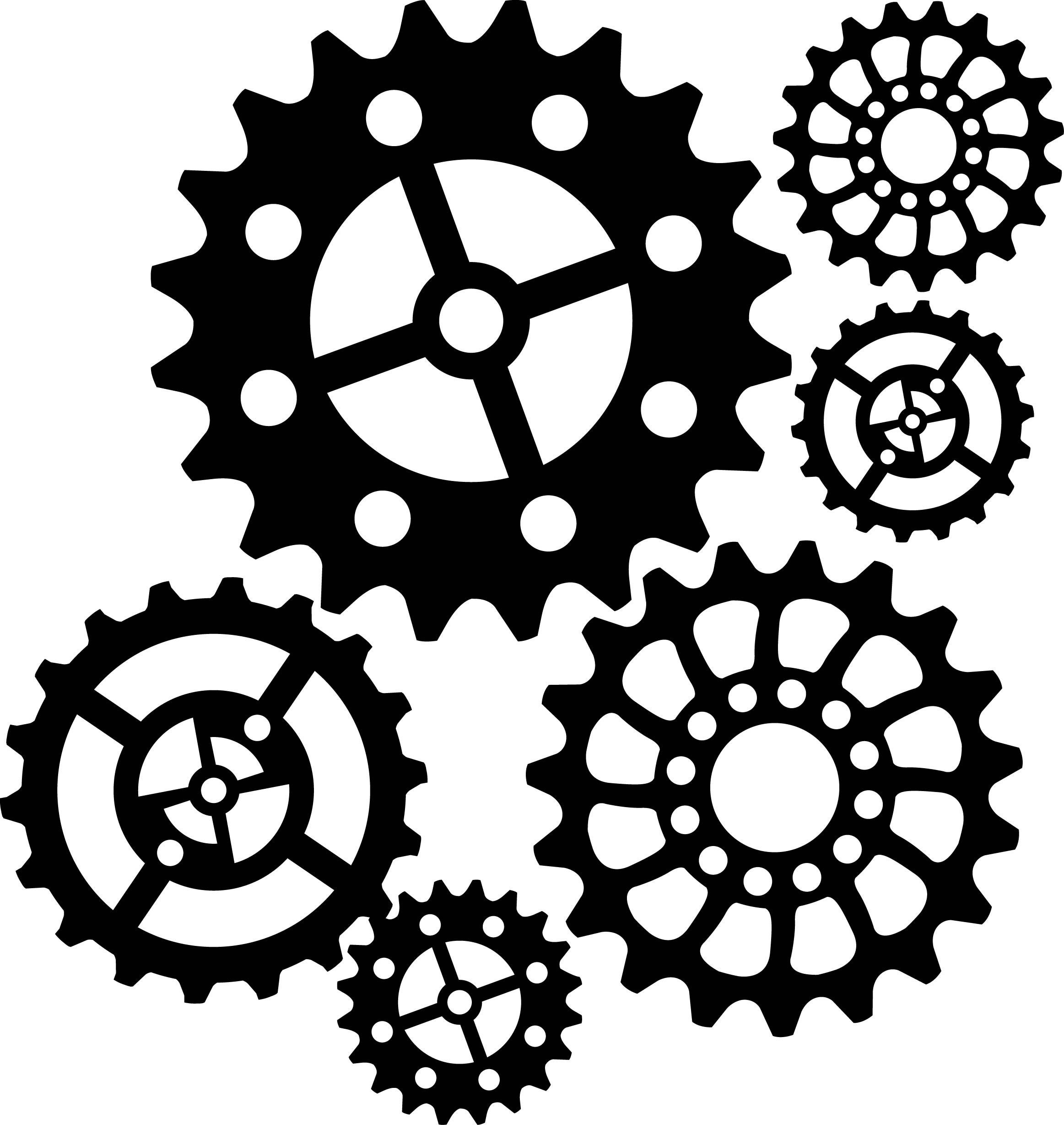 Steampunk Gear Stencil - Google Search | Sketching | Steampunk Gears - Free Printable Gears