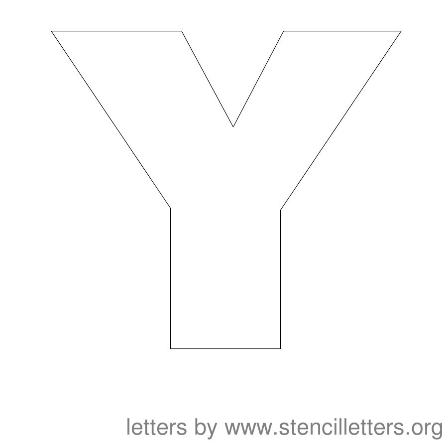 Stencil Letters 12 Inch Uppercase | Stencil Letters Org - Free Printable Alphabet Stencils Templates