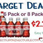 Stock Up Deal On Coca Cola At Target! $2.25 6Pk Or 8Pk Bottles!   Free Printable Coupons For Coca Cola Products