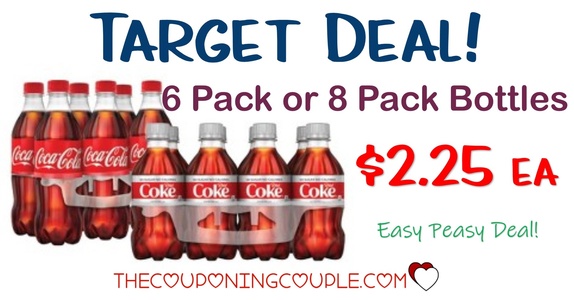 Stock Up Deal On Coca Cola At Target! $2.25 6Pk Or 8Pk Bottles! - Free Printable Coupons For Coca Cola Products