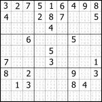 Sudoku Printable | Free, Medium, Printable Sudoku Puzzle #1 | My   Free Printable Sudoku Books