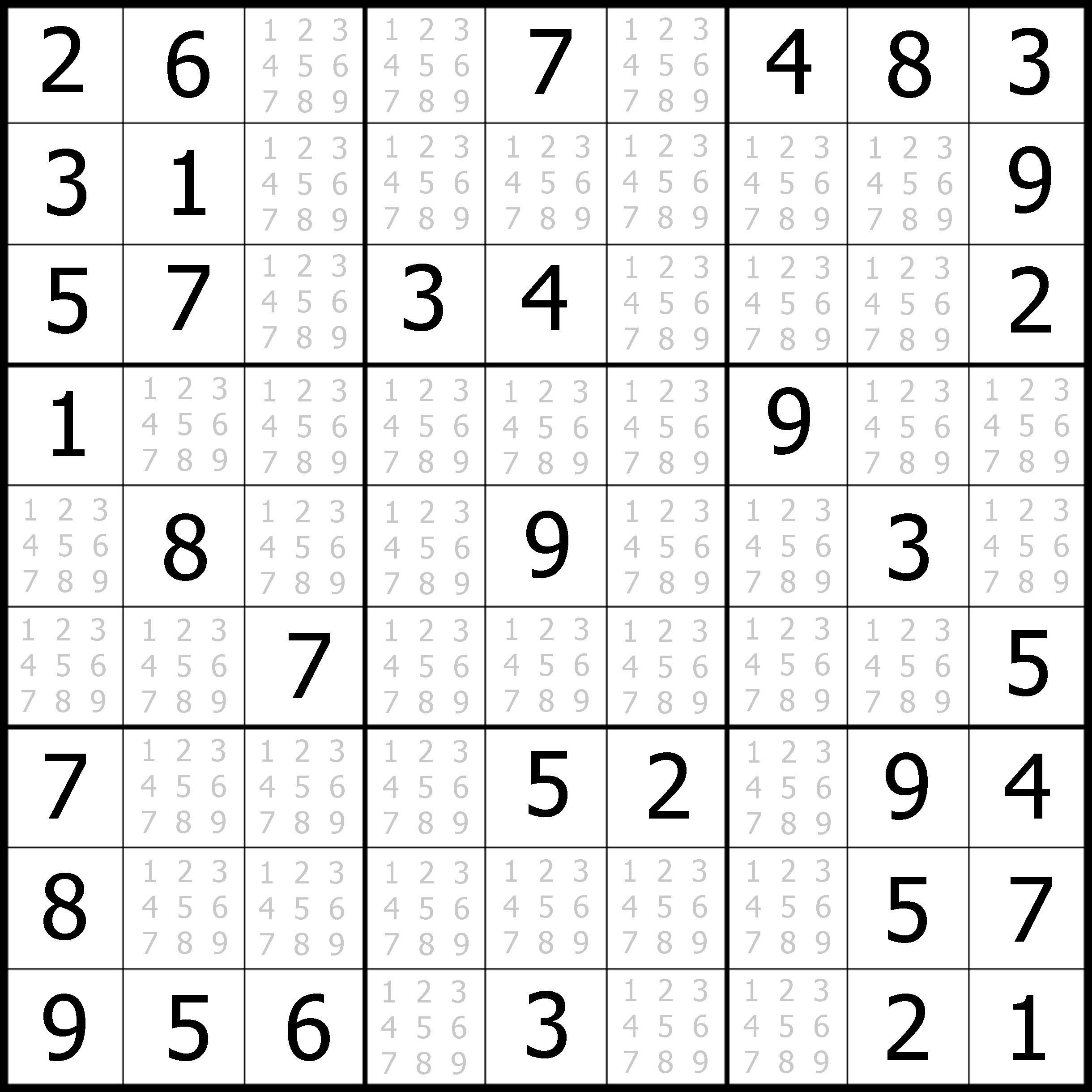 Sudoku Puzzler | Free, Printable, Updated Sudoku Puzzles With A - Free Printable Sudoku Puzzles