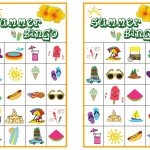 Summer Bingo Game With Free Printables   Free Printable Bingo