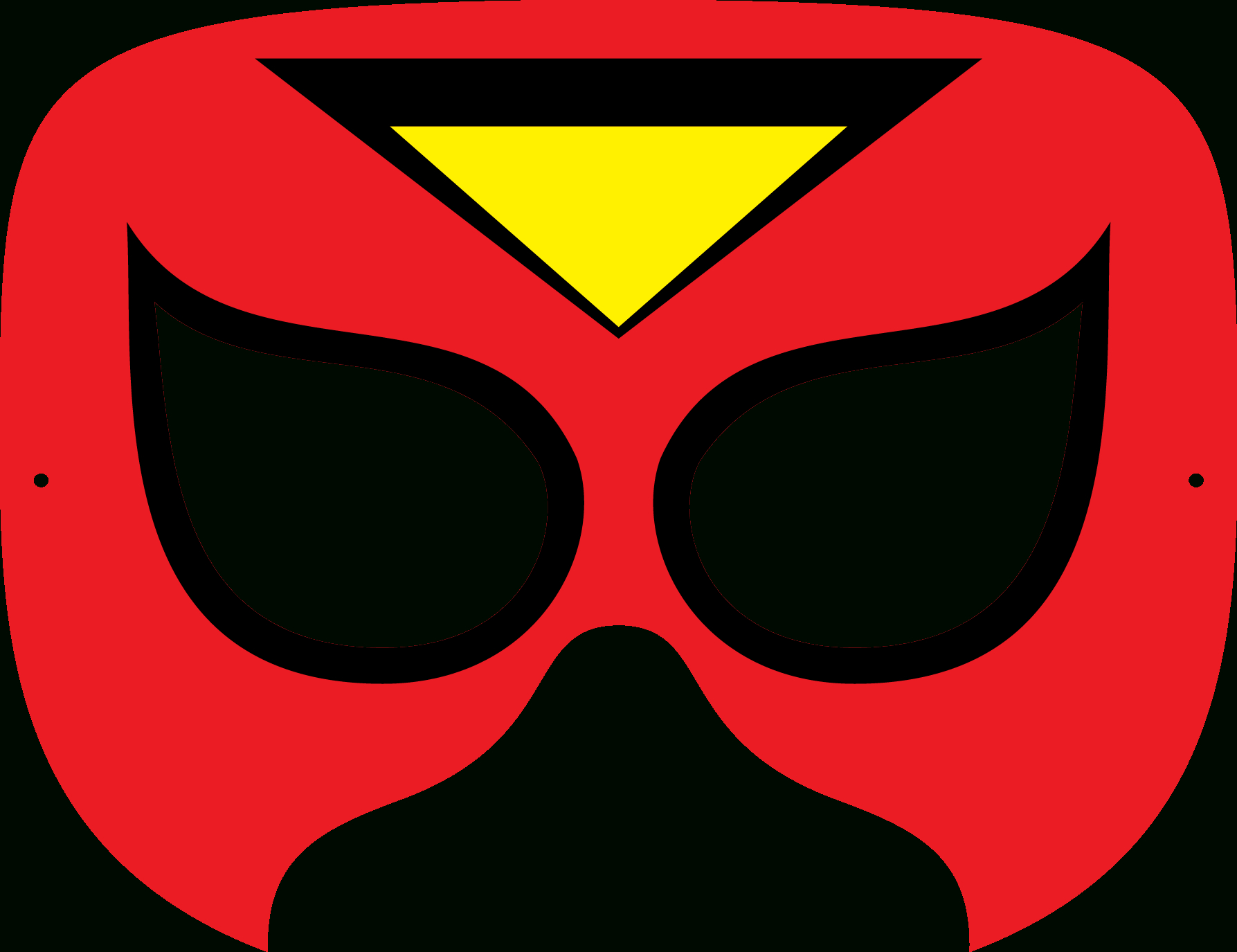 Superhero Mask Template | Free Download Best Superhero Mask Template - Superman Mask Printable Free
