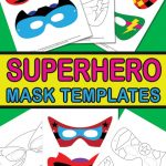 Superhero Mask Template   Itsy Bitsy Fun   Superman Mask Printable Free