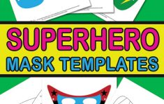Superhero Mask Template – Itsy Bitsy Fun – Superman Mask Printable Free