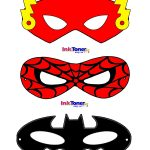 Superhero Masks | Costume | Super Hero Day, Superhero, Spiderman Costume   Superman Mask Printable Free