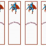 Superman Themed Bookmarks | Themed Bookmarks   Free Printables   Free Printable Sports Bookmarks