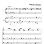 Swift   Blank Space Sheet Music For Piano Four Hands [Pdf]   Taylor Swift Mine Piano Sheet Music Free Printable