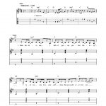 Swift   Picture To Burn Sheet Music For Guitar Solo (Easy Tablature)   Taylor Swift Mine Piano Sheet Music Free Printable