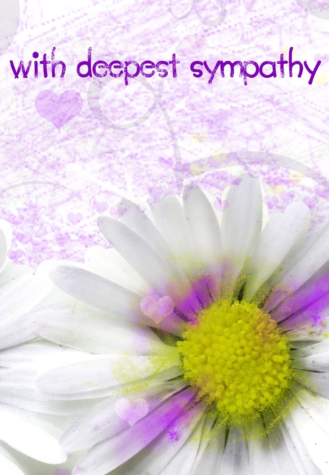 Sympathy #card Free Printable With Deepest Sympathy Greeting Card - Free Printable Sympathy Verses
