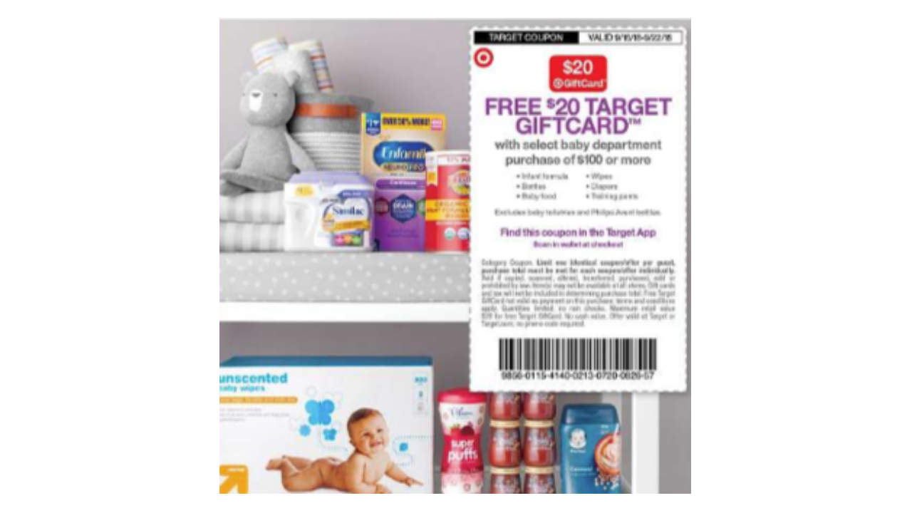 Target Gift Card Offer: Hot Deals On Baby Food And Diapers - Free Printable Coupons For Baby Diapers