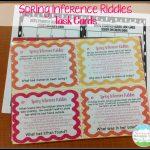 Task Card Corner   Free Printable Kindergarten Task Cards