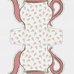 Tea Cup Template Free Printable | Shabby Chic Teapot Free Printable   Free Teapot Printable