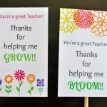 Teacher Appreciation Card Printables | A Glimpse Inside   Free Printable Teacher Appreciation Greeting Cards