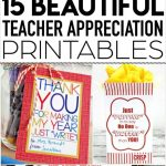 Teacher Appreciation Printables: Fun Free Tags For Teacher Gifts!   Free Popcorn Teacher Appreciation Printable